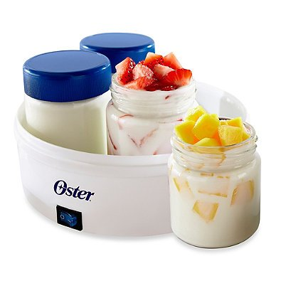 Oster Mykonos Greek Yogurt Maker Dishwasher Safe