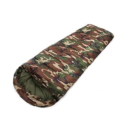 Saco de dormir para acampar al aire libre de 4 estaciones caliente portátil ultraligero impermeable para adultos viajes senderismo camping saco de dormir