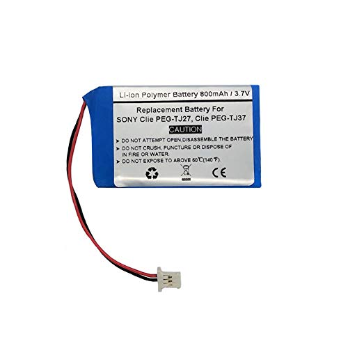 Cheap 800mAh/3.7V Replacement Battery for Sony Clie PEG-TJ27, Clie PEG-TJ37, Sony Clie TJ25, TJ35, C...