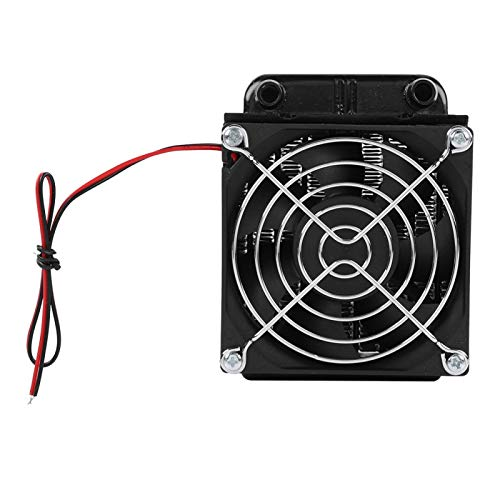 Shipenophy Radiador de refrigeración por Agua Duradero Fácil de Usar Compacto con Ventilador Dual Práctico Variable para computadora PC