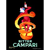 Bitter Campari 1921 Drink Unframed Art Print Poster Wall