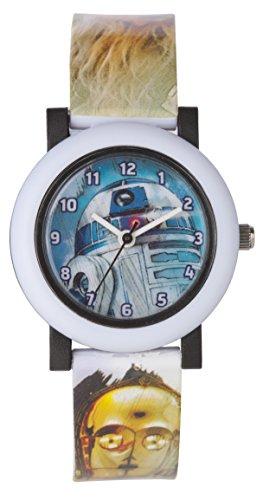 Star Wars Unisex-Child Quartz Watch, Analogue Classic Display and Plastic...