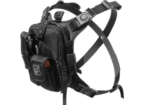 Covert Escape RG(TM) Flashlight/Tools/Camera/GPS/Cycling Chest Pack by...