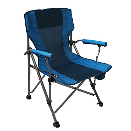 Chair Folding Outdoor Indoor Camping Mesh Back - Directors Chairs Cup Holder Leisure Support 300 lbs with Office Beach Picnic Hiking Fishing