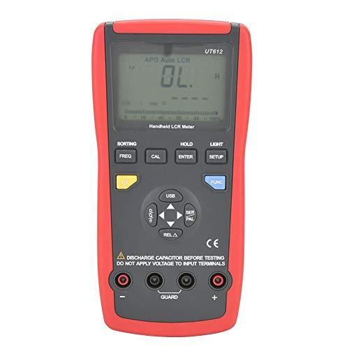 Compensación Medición automática de relación Medidor digital doble USB Pantalla LCD Probador de frecuencia de inductancia con inductancia 20uH ~ 2000H para la industria de la oficina