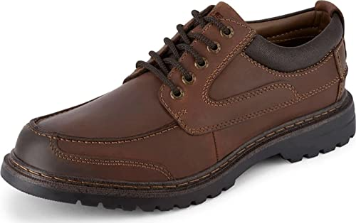 Dockers Mens Overton Leather Rugged Casual Oxford Shoe With Stain Defender - Wide Widths Available, …