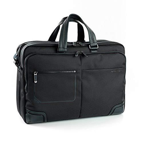 Roncato Bolsa Porta Computador Wall Street - Cabina cm 32 x 42 x 13, Ligero, Organización Interna, Garantìa 2 años