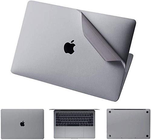 Who-Care Decal Cover For Apple For Macbook Pro 13' 15' A1708 A1707 A1706 Top/Bottom/Toucfor Hpad/Palm Guard Skin-4In1Grey-Pro15Touchbara1707