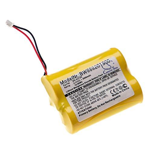 vhbw Batería compatible con Panasonic BR-ACF2R Controlador Lógico Programable, PLC (2000mAh, 6V, Li-MnO2)