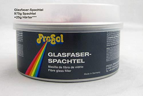 Glasfaserspachtel 975 g plus 25 g Härter, 1000 g netto