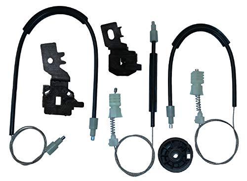 Twowinds - 80771JD20A Kit de reparación de elevalunas eléctricos Delantero Izquierdo Qashqai +2 (J10, JJ10)