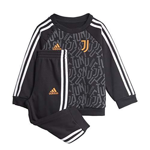 adidas Juventus FC Stagione 2020/21 JUVE 3S BBJOGER Tuta 3, Unisex, Nero/Bianco/Apnase, 68