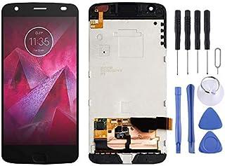 LCD Screen Replacement LCD-skärm och digitizer Fullständig montering med ram för Motorola Moto Z2 Force XT1789 Phone Acces...
