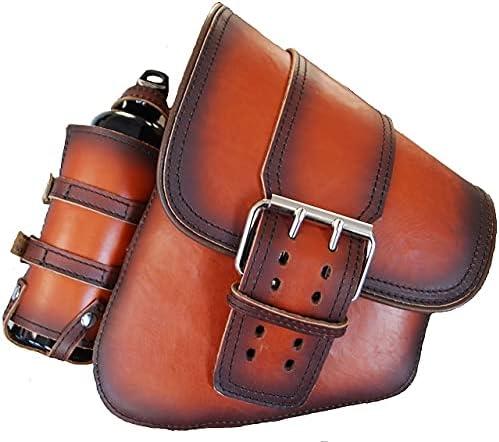 SSBBL01BSBHLRD-2 La Rosa Max 58% Excellence OFF Design Leather LEFT Saddlebag ANTI SIDE