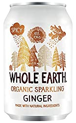 Organic ginger sparkling drink made with fruit juice Ginger extract provides body and a little capsicum gives a fiery kick Sweetened with agave syrup Healthier alternative to fizzy drinks Free from artificial colour or flavours
