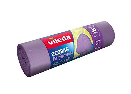 Vileda 152528 - Bolsa de basura perfumada, color lila