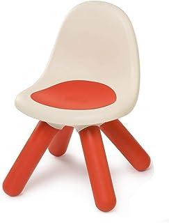 Smoby - Kid Chaise - Mobilier pour Enfant - Dès 18 Mois - Intérieur et Extérieur - Rouge - 880103