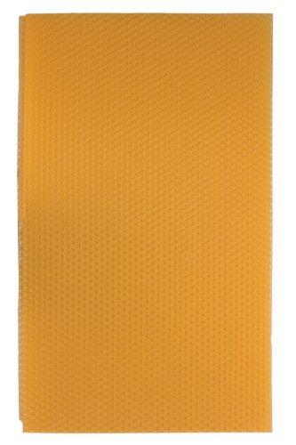 5 Einzelne Palettas Bienenwachsplatte 20x35cm 5 Stück 100% Bienenwachs