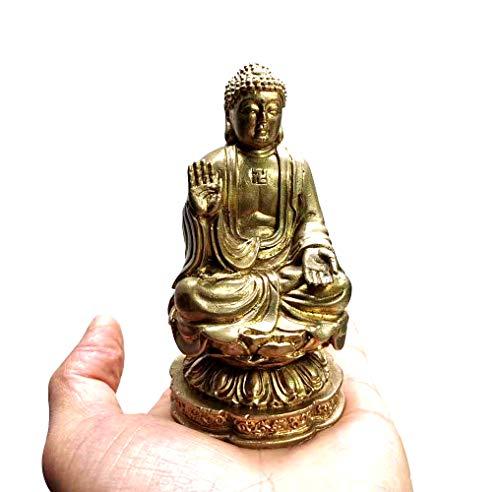 KIKITOY Shakyamuni Buddha Statue Tathagata Buddha for Home Decor