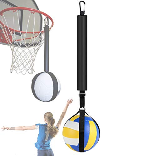 XLanY Equipo de Entrenamiento de Clavos de Voleibol, Sistema de Entrenamiento de Clavos de Voleibol para aro de Baloncesto, Ayuda de Entrenamiento para Saltar y balanceo de Brazos y Potencia