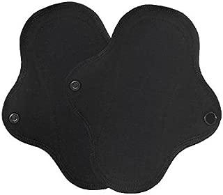 Lunapads Performa Washable Cloth Liners, Black