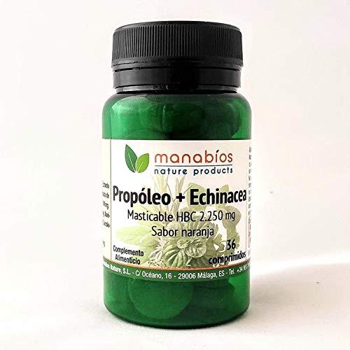 Propoleo + Echinacea 2.250 mg 36 comprimidos masticables