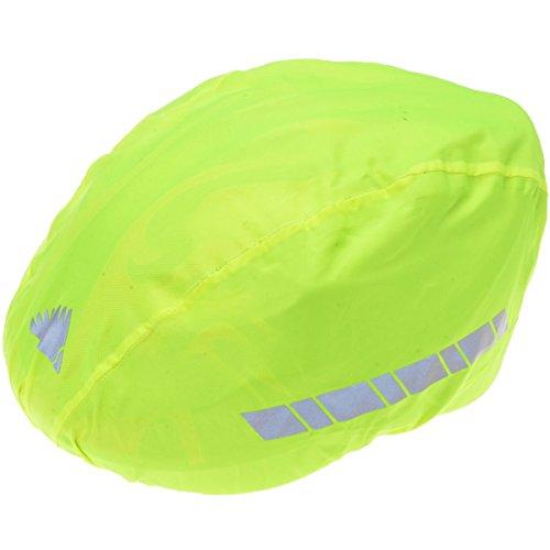 Filmer 46.850 Regenschutz Helm / Überzug für Fahrradhelm / Reithelm etc. - neongelb - reflektierend