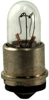 Eiko 718-10 718, 5V .115A T-1 Sub Midget Flange Base Light Bulb (Pack of 10)