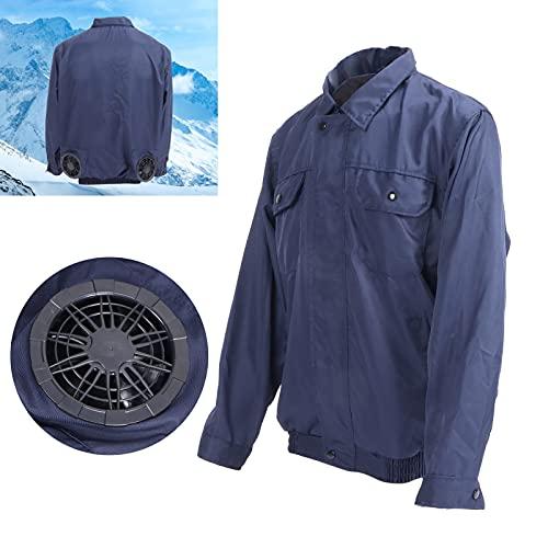 Faceuer Camisa con Aire Acondicionado, Chaleco refrigerante para Hombres, fácil de Limpiar para Trabajos de Alta Temperatura para Trabajos al Aire Libre(XL)