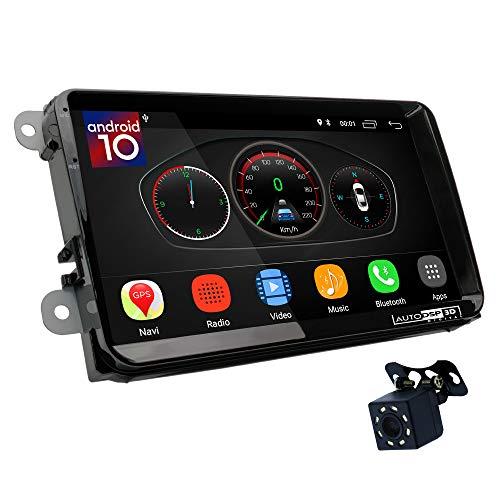 UGAR EX10-DSP 9' Android 10.0 DSP Navigazione GPS per Autoradio Compatibile con Golf V 2003-2009; Golf VI 2008-14; Jetta V 2005-2010; Jetta VI 2011+; Magotan 2007-16; Passat B6 2005-2010; Passat.