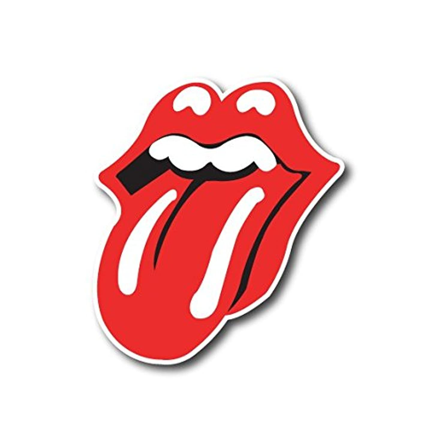 The Rolling Stones Sticker Rock Band Decal for Car Window, Bumper, Laptop, Skateboard, Wall, ETC. (3