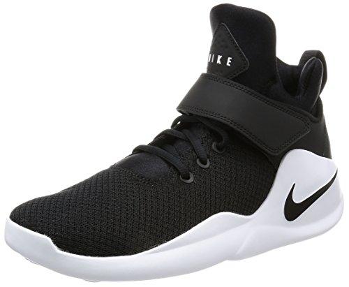 Nike Herren Kwazi Basketballschuhe, Schwarz (Schwarz/Schwarz/Weiß), 39 EU