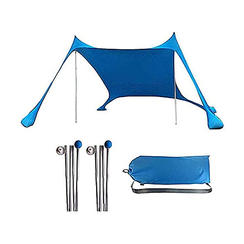 GYSEA Pop Up Beach Tent con la Calidad de la Barra de Soporte Estabilidad portátil al Aire Libre Sol cobertizo Pérgola para Viajes de Campamento Pesca Picicio de Patio Trasero