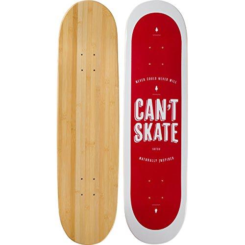Bamboo Skateboards Can't Skate Graphic Skateboard Deck, 7.75' x 31.5'