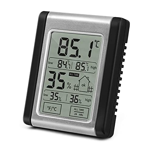 FSLLOVE FANGSHUILIN Digital LCD Thermometer Hygrometer Manometer-Anzeige Indoor Elektronische Temperatur-Feuchtigkeits-Monitor