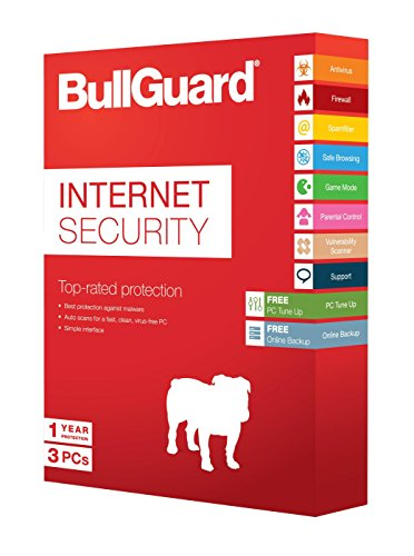 BullGuard Internet Security v14.0, 1Año, 3Usuarios, 5GB Caja (10Unidades)