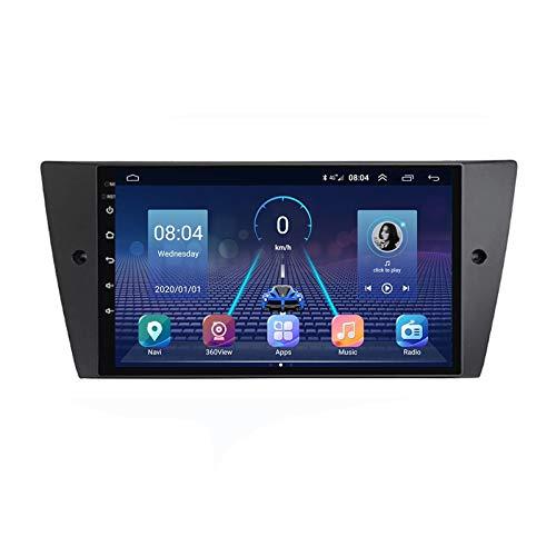 MGYQ Radio De Coche Bluetooth con FM Pantalla Táctil 1080P De 9 Pulgadas, para BMW 3 Series 2006-2012 Autoradio Soporte Sistema Android/Control del Volante/USB/AUX Reproducción,Quad Core,4G WiFi 1+32