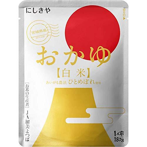 にしきや おかゆ(白米) 180g お粥