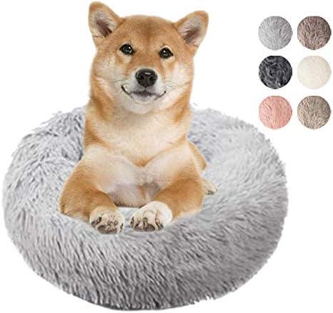Miyabing Cat Dog Bed in Self-Warming Faux Donut Fur Cuddler Large special price !! Ranking TOP14