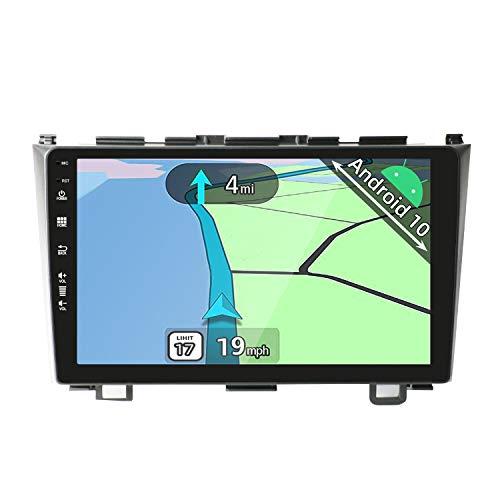 YUNTX Android 10 2 Din Autoradio adatto per Honda CRV(2007-2011) - 2G+32G - Gratuita Telecamera Posteriore - 9 pollici - Supporto DAB / Controllo del Volante / WiFi / Bluetooth/ Mirrorlink / Carplay