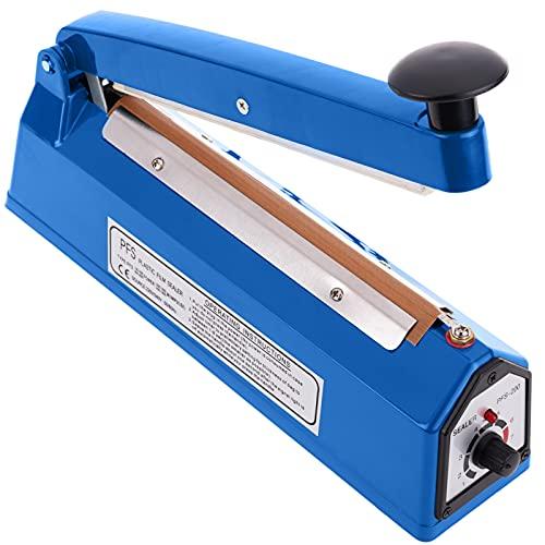 PrimeMatik - Selladora térmica de 20 cm para Bolsas de plástico
