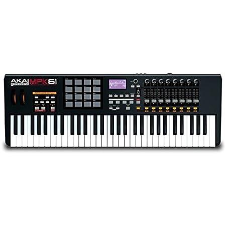 Akai mpk61 Teclado controlador USB/MIDI (61 teclas)