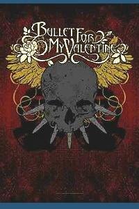 bullet for my valentine skull POSTERFLAGGE FLAGGE FAHNE