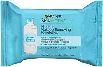 Garnier Makeup Remover Face Wipes for Waterproof Makeup