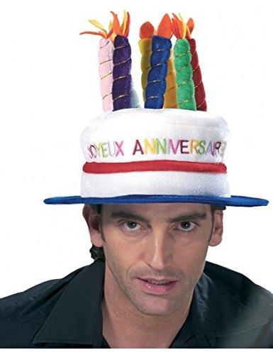 Chapeau gâteau d'anniversaire - unique