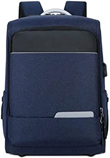 Fmdagoummzibeib Backpack, Superficial Business Oxford Cloth Backpack,International USB Interface Design,suitable for Men ,...