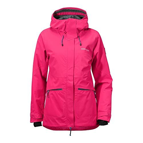 Didriksons W Alta Jacket Pink, Damen Freizeitjacke, Größe 36 - Farbe Warm Cerise