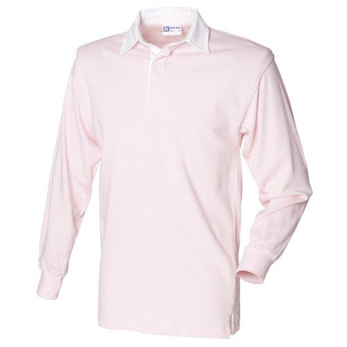 Front Row - T-Shirt à manches longues - Homme Licht Rosa / Weiß Medium