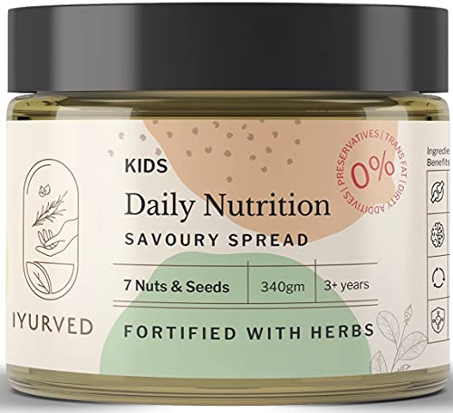 Iyurved Kids Daily Nutrition Savoury Spread, 340 Gm