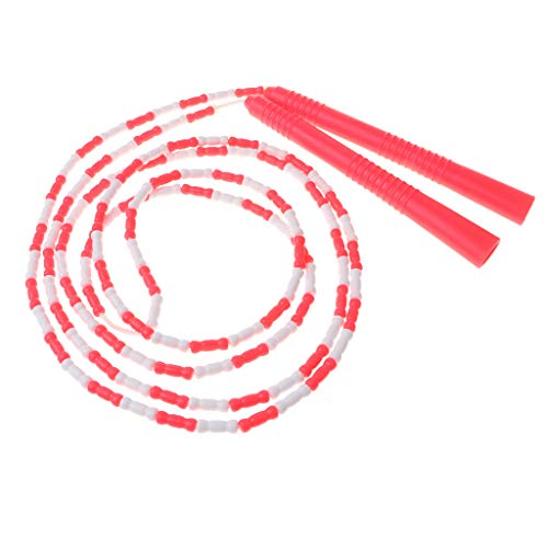 Sharplace Corde à Sauter De Vitesse - Rouge + Blanc
